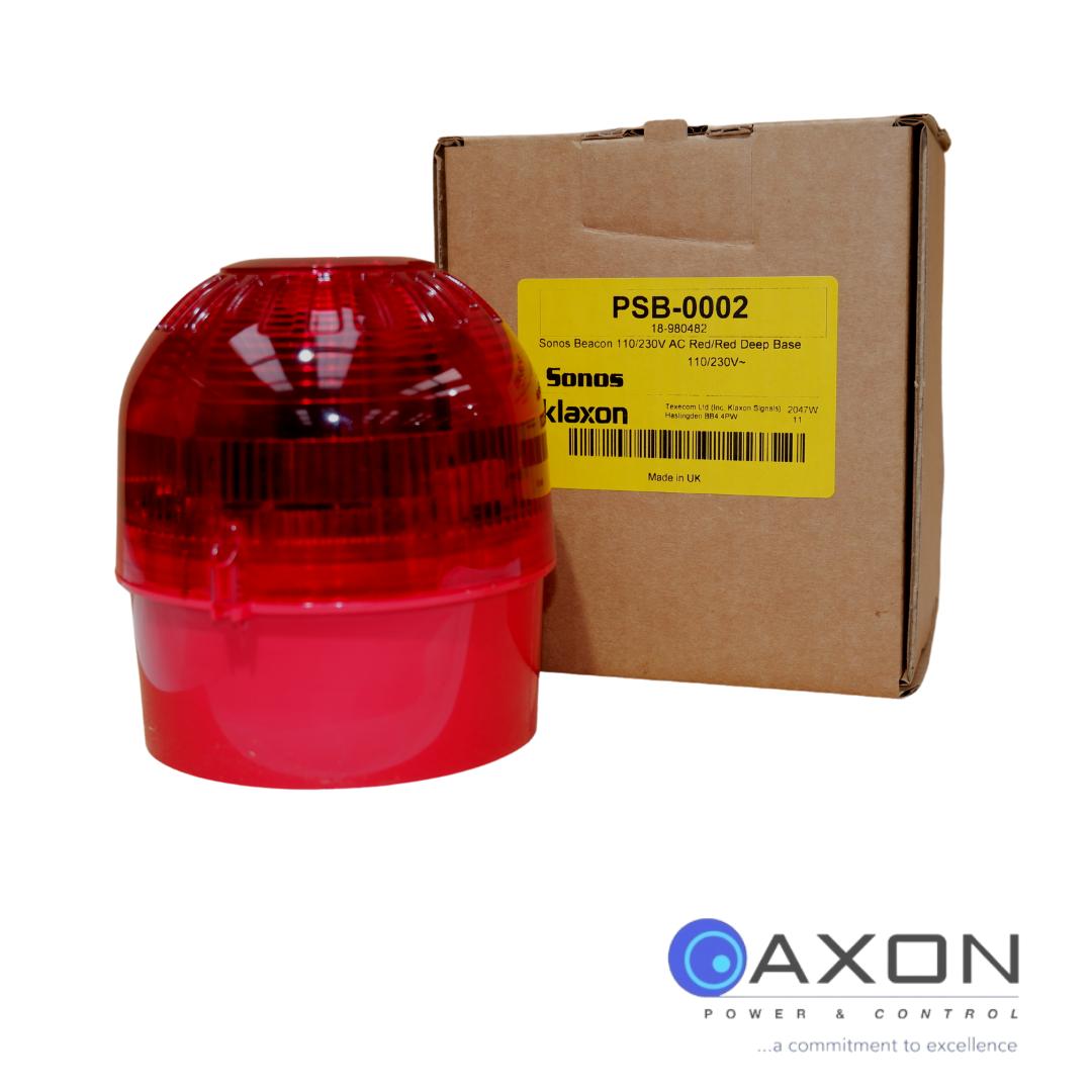 Red Sounder Beacon 17-60V Thumbnail