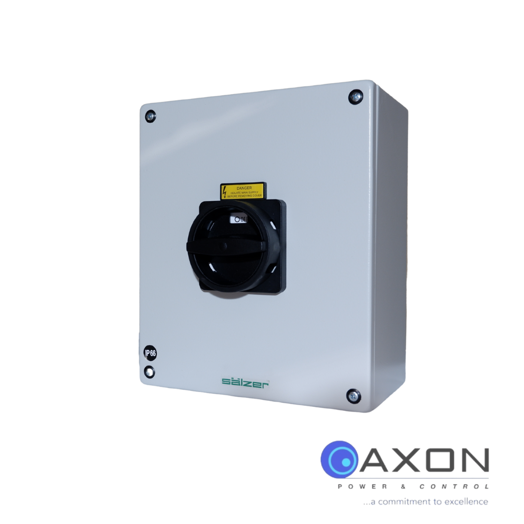 Salzer Isolator – 80A Six Pole Enclosed Thumbnail