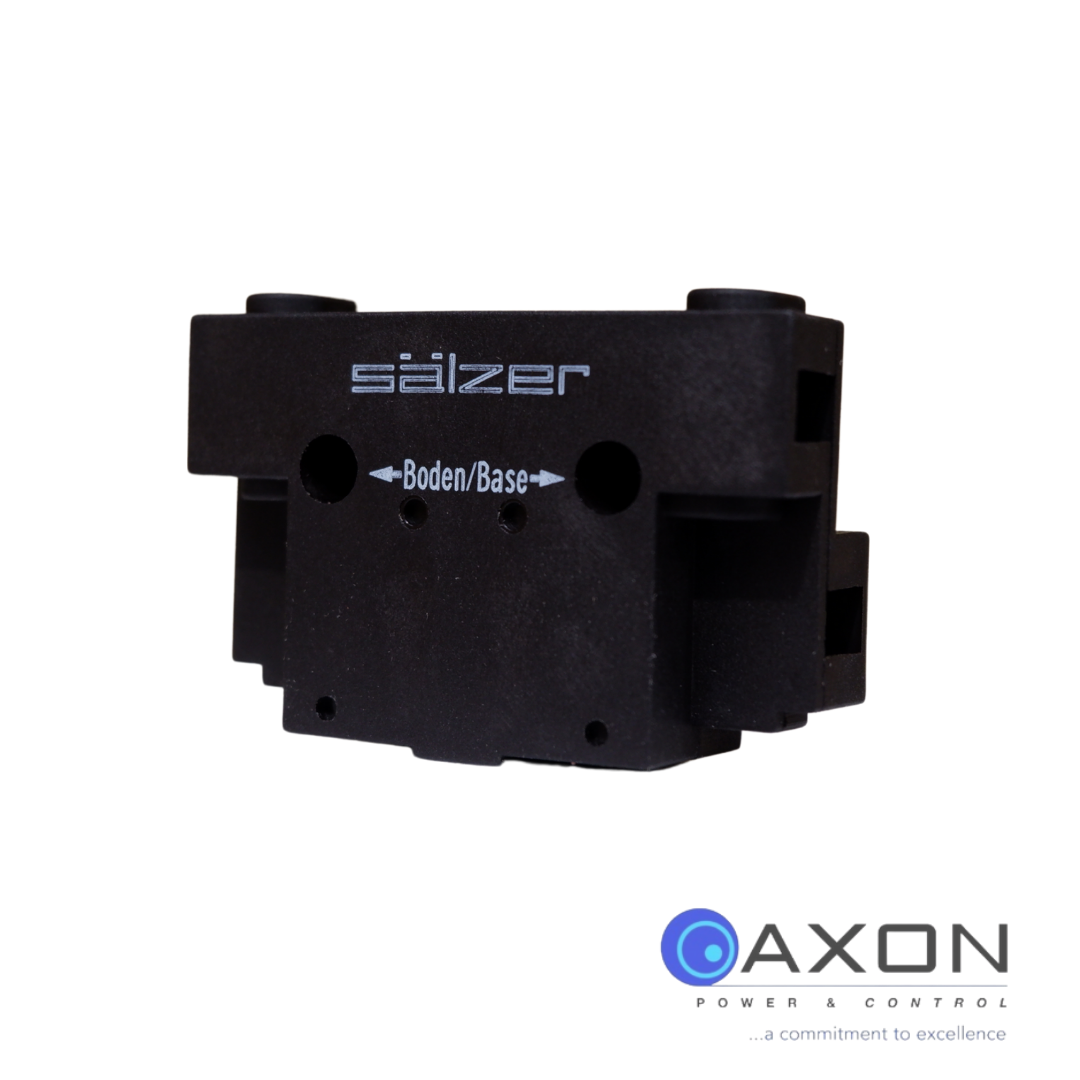 Salzer Auxillary Contact Block (Large), For 63A-125A Thumbnail