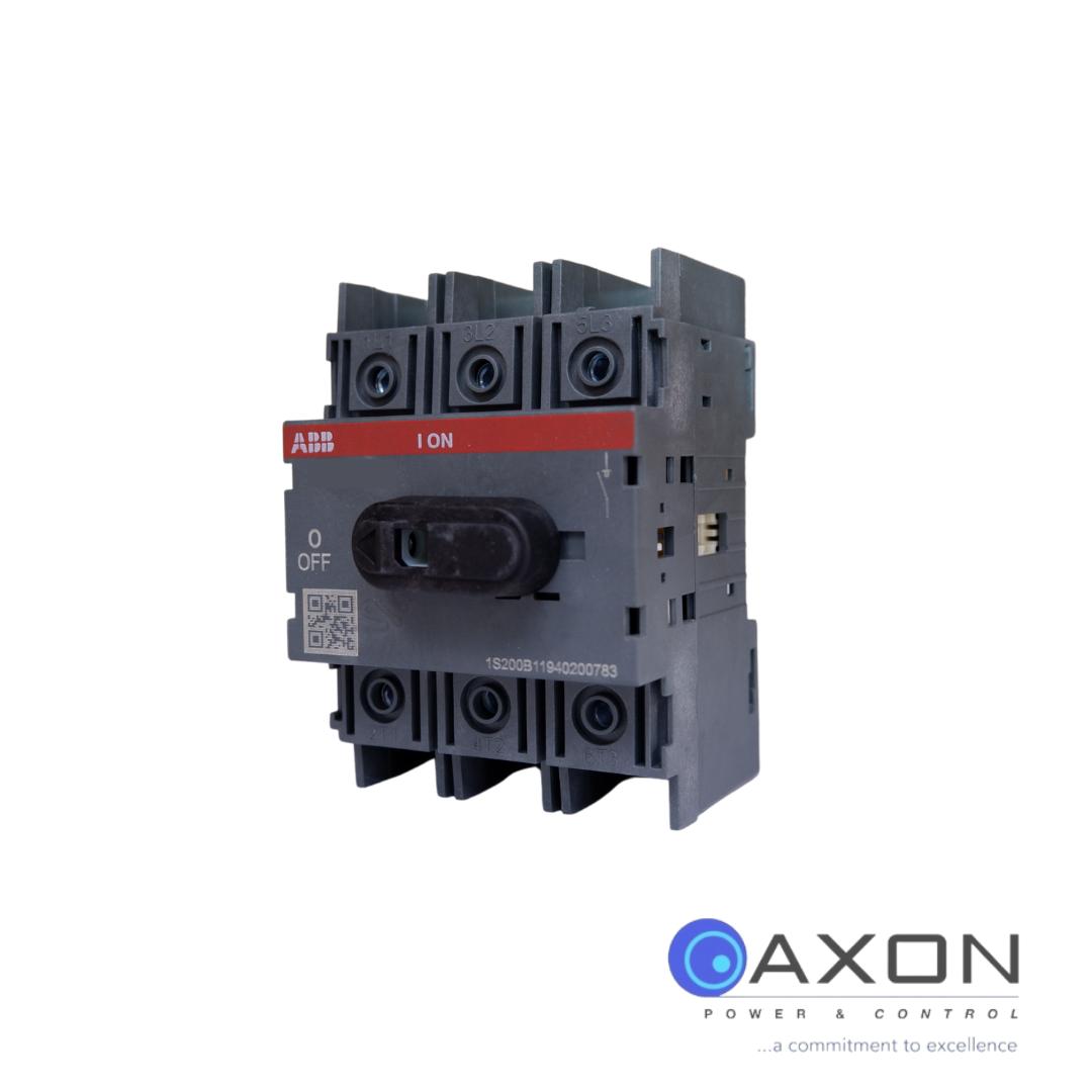 ABB Isolator, 100A 3Pole – OT100F3 Switch Disconnector Thumbnail