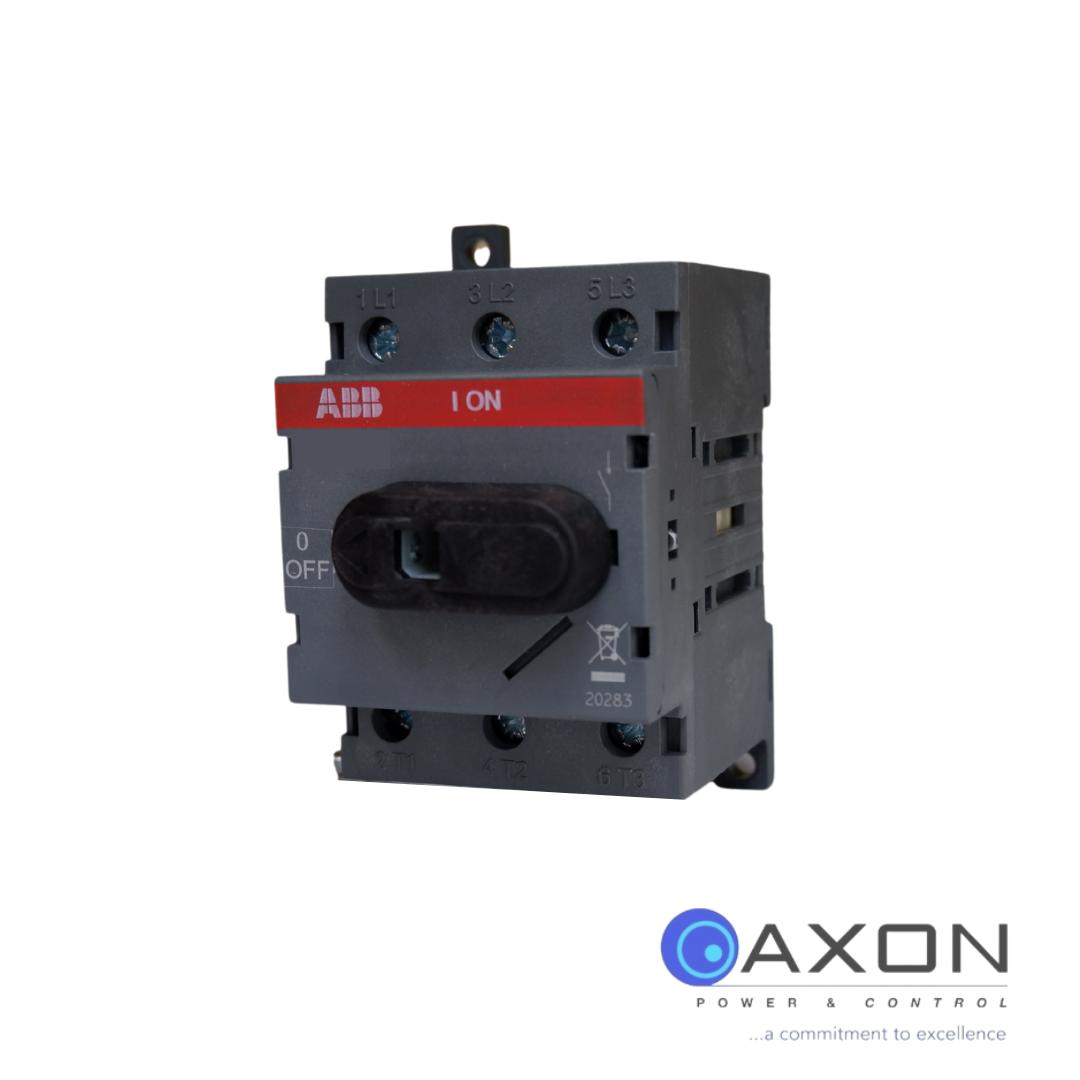 ABB Isolator, 63A 3Pole – OT63F3 Switch Disconnector Thumbnail