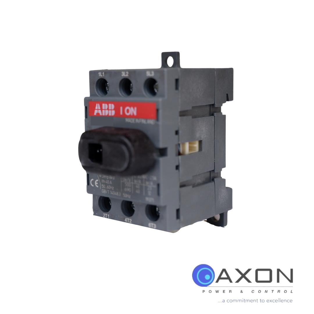 ABB Isolator, 40A 3Pole – OT40F3 Switch Disconnector Thumbnail