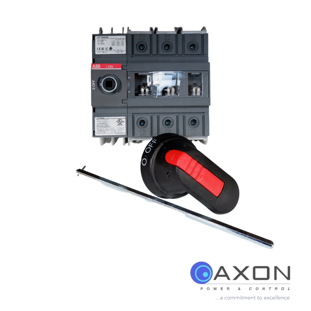 ABB Isolator, 160A 3Pole – OT160G03P Switch Disconnector Thumbnail
