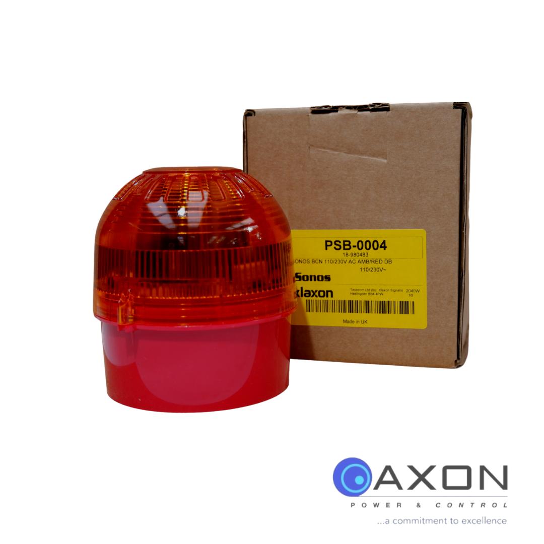 Amber Flashing Beacon 110-230V Thumbnail